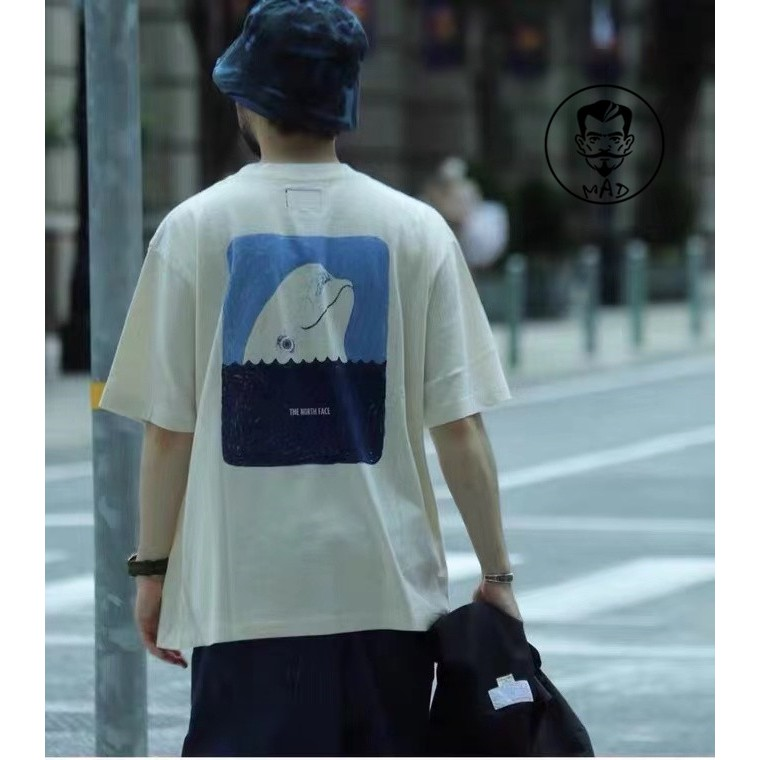 【免運】現貨 The North Face 20AW TNF日版北面紫標5.5oz H/S Graphic 鯨魚T恤短袖