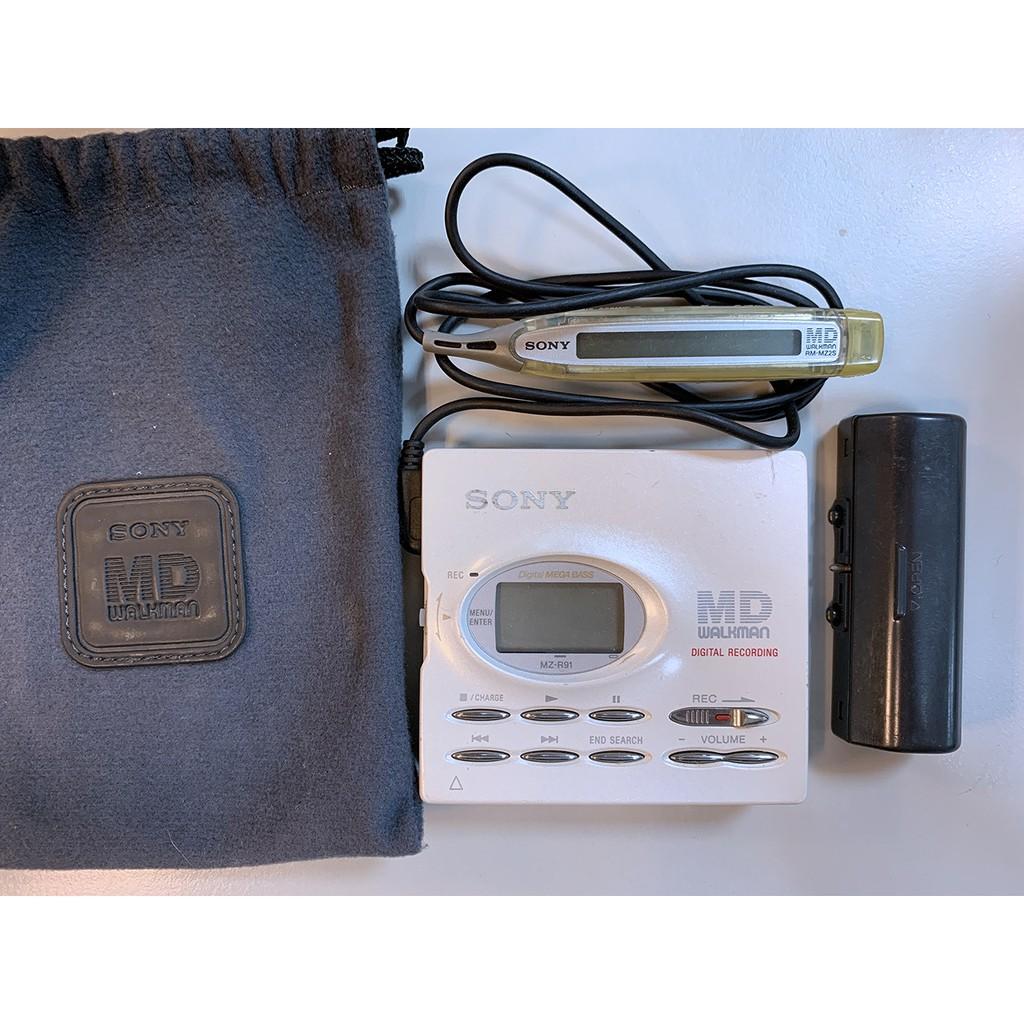 二手Sony MD Walkman (MZ-R91)