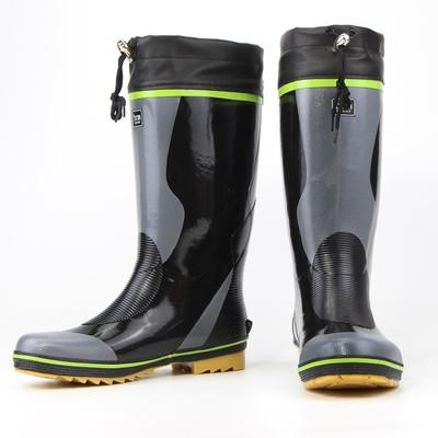 雨鞋男款秋冬防水高筒橡膠雨鞋膠鞋膠靴防滑釣魚鞋長筒水鞋透氣