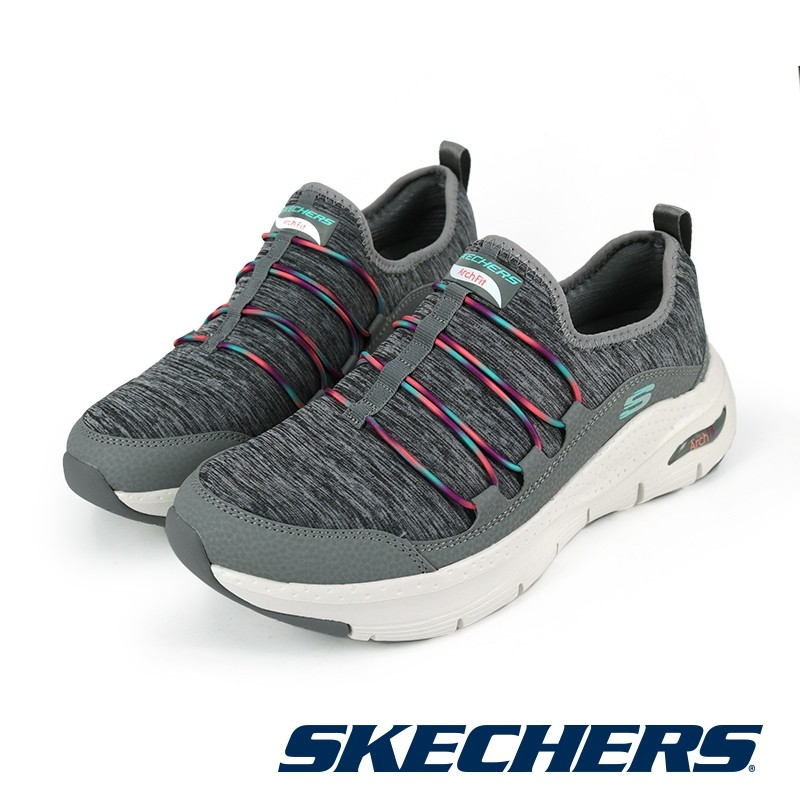 【SKECHERS】休閒系列 ARCH FIT - 149061GYMT - 灰彩\女 - 原價2790元