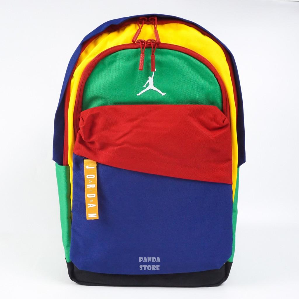胖達)NIKE JORDAN 彩色 後背包 15吋 筆電 夾層 JD2033001AD-002 026 彩色