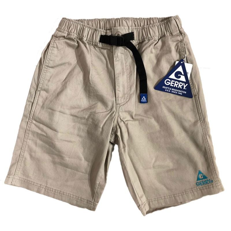 GERRY OUTDOORS 7644-96 Stretch Fabric Shorts 機能 短褲 (淺卡其)化學原宿