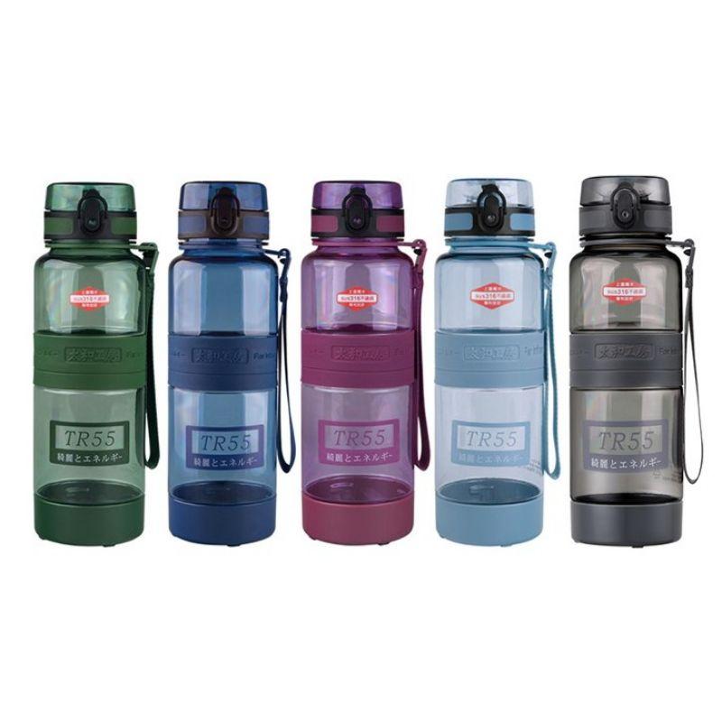 太和工房負離子能量健康 運動水壺(正品) -TR55  1000ml(深灰 x 3 、綠 x1 振興方案特價)
