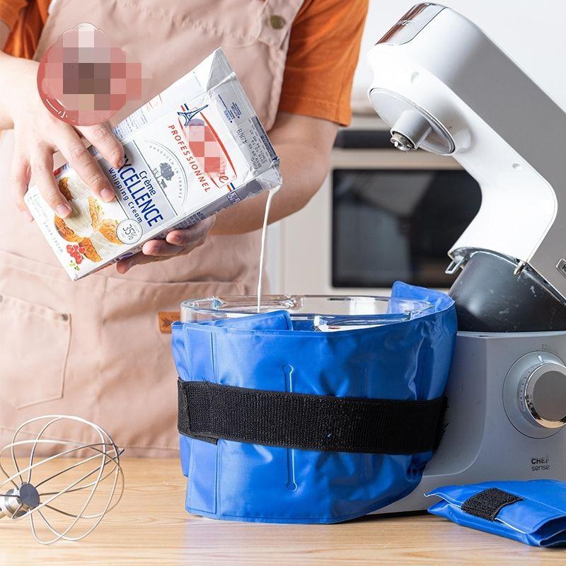 2入 攪拌機冰袋 廚師機冰袋 降溫冰袋 冰寶 冰袋 冰包 冷敷袋 打蛋盆 攪拌盆 鋼盆 熱敷袋 小紅 小黑攪拌機 鋼盆