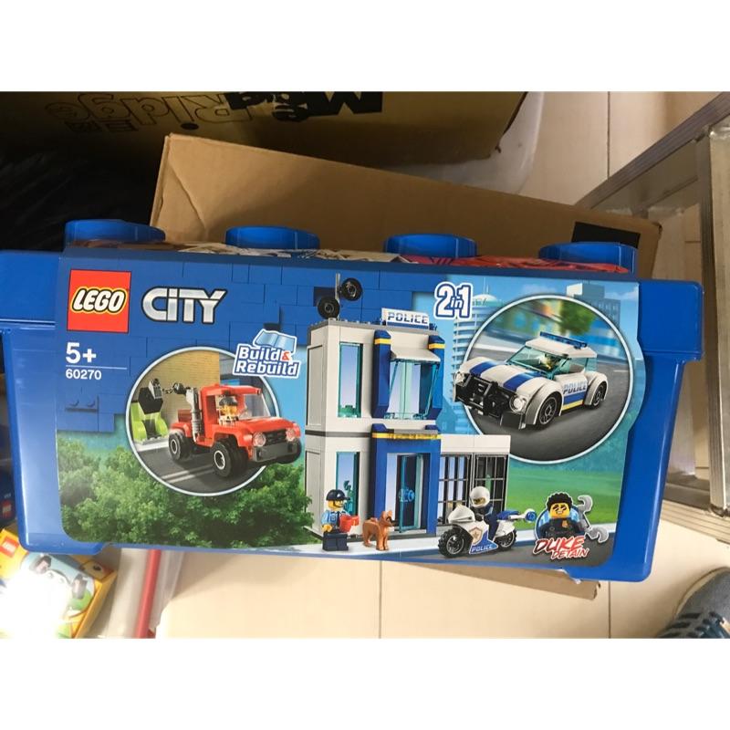 樂高 60270 城市 系列 警察 收納 箱 禮物 警車 汽車 機車 台北市可面交 LEGO city police