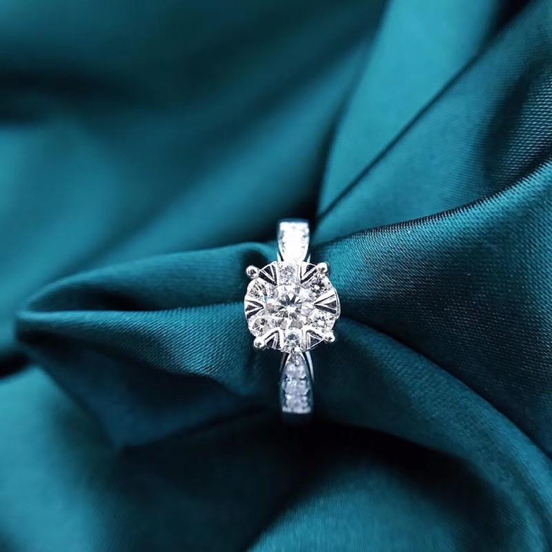 璽朵珠寶 [ 18K金 60分 拚鑽 鑽石戒指 ] 微鑲工藝 精品設計 鑽石權威 婚戒顧問 婚戒第一品牌 鑽戒 GIA