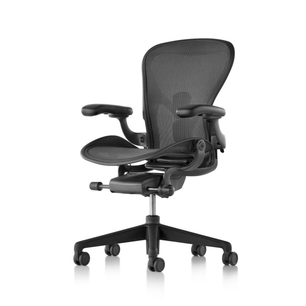 正品現貨!Herman Miller Aeron 全功能2.0版 帶前傾 二代人體工學椅 熱賣椅 辦公椅 電腦椅 地毯輪