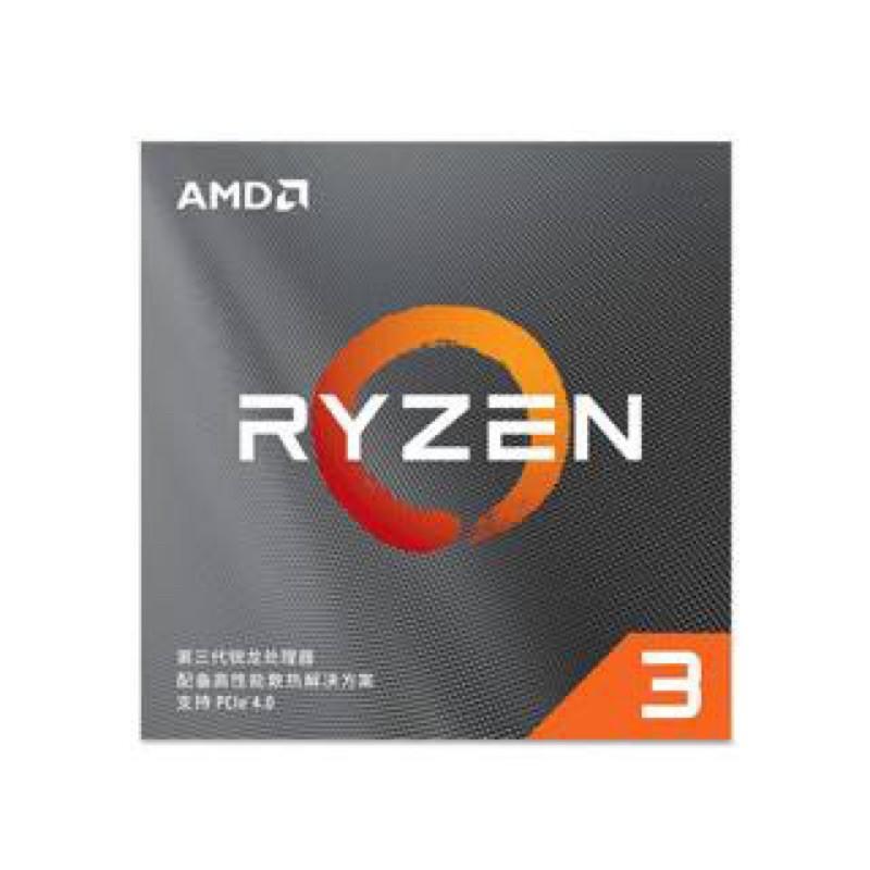 AMD Ryzen3 R3-3300X(台灣公司貨)