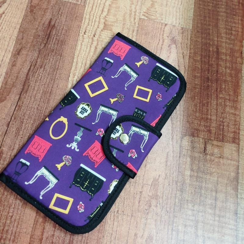 Anna sui卡夾護照夾皮夾