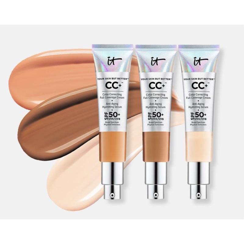 預購可刷卡✨ It Cosmetics 超遮瑕 CC霜 Full Coverage CC Cream 高遮瑕 保濕 粉底