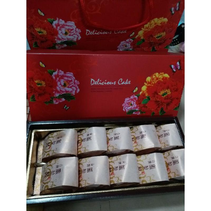 【純手工製作】鳳梨酥~奶素~不加蛋~十入裝禮盒