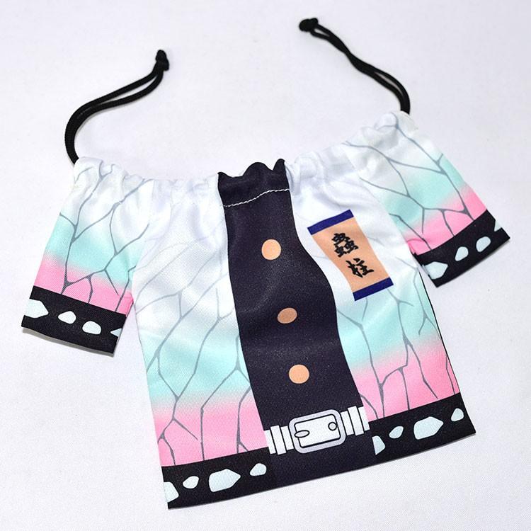 鬼滅之刃 蝴蝶忍 束口袋 文具袋 BANDAI日本正版國內販售 tk589