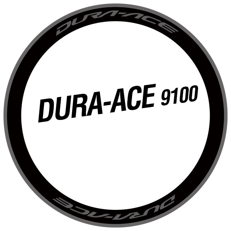 公路自行車車輪貼花適用於 Da R9100 C24 C40 C60 Dura Ace/shimano