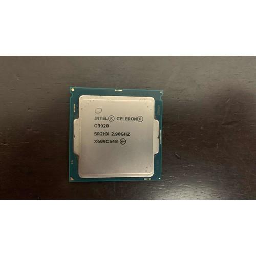 二手良品 G3920 intel cpu 六、七代主機板用 G3900 G4400 G4600 i3 6100參考
