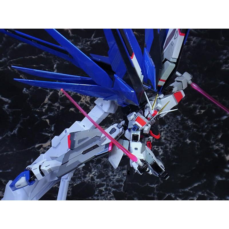 合金 現貨 metal build 自由 鏡稜電鍍 (七劍 mc 攻擊自由 光之翼 雪崩 雪橇 戰損