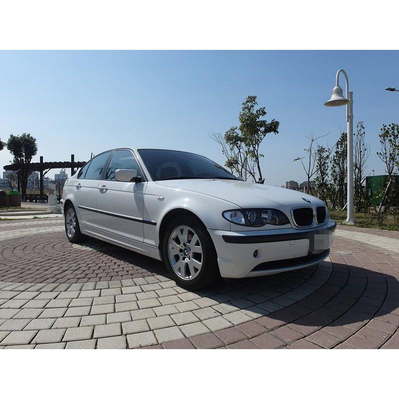 2002 BMW 318 白 2.0『阿賢精選車坊』賞車專線:0908169110