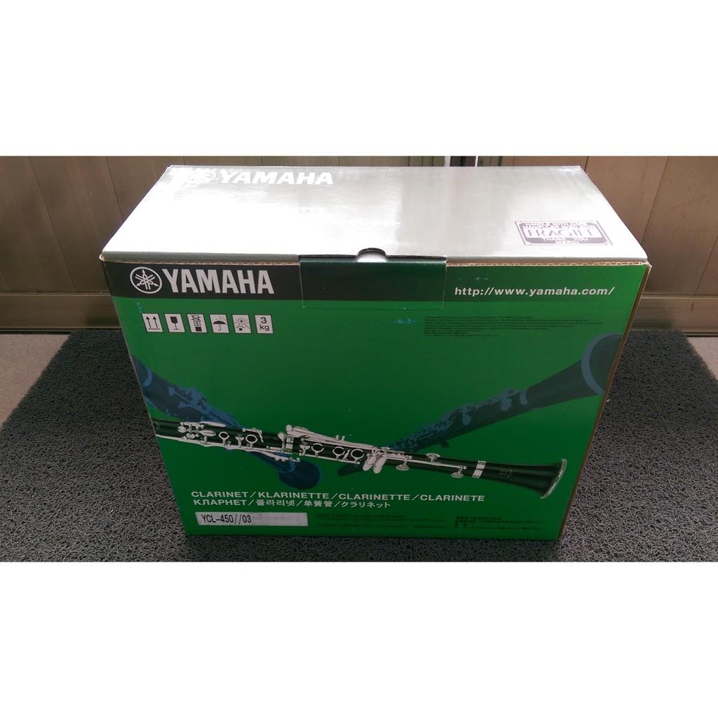 全新未拆原廠公司貨 YAMAHA YCL-450 豎笛 黑管 單簧管 Clarinet 降價求售 僅此兩支 另附配件