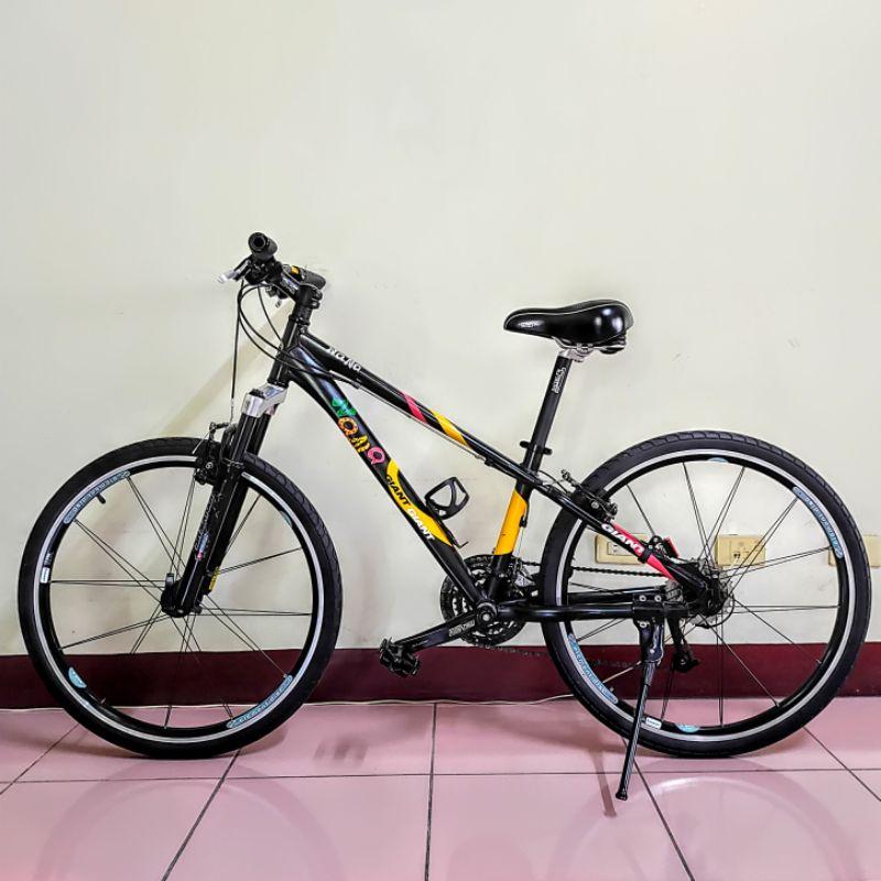 捷安特 GIANT Nana 黑色 14吋 27段變速 女用自行車款 二手 腳踏車