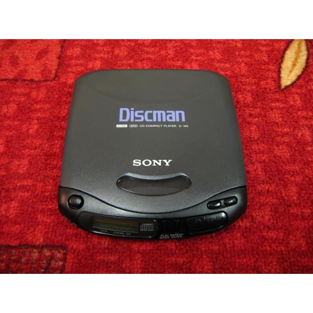 【完美作品】SONY Discman D-145 日本製 CD隨身聽,最高品質,簡易配件,現貨特價