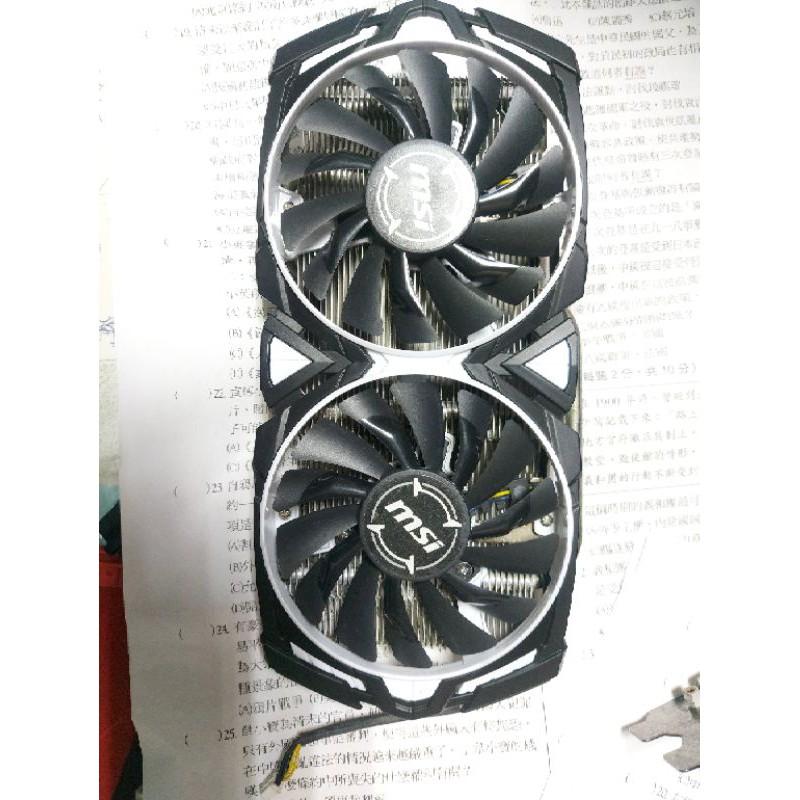 #msi RX580 ARMOR FAN #顯卡風扇功能正常