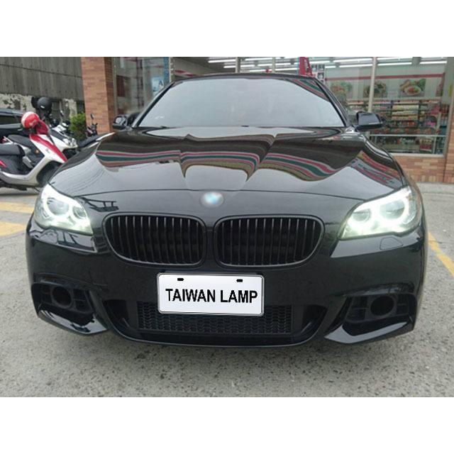 《珍藏小舖》全新BMW寶馬F10 F11 14 15 16 17年小改款LCI原廠型HID光圈魚眼投射大燈頭燈組 台製