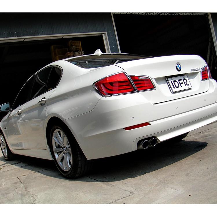 【JR 佳睿精品】2010-2016 BMW 5系列 F10 F11 鍍鉻後燈框 尾燈框 電鍍 改裝 台灣製
