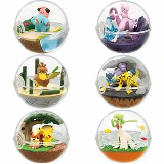 優質現貨動漫 6款8代精靈球沙奈朵 小小象 雷公 大蔥鴨 超夢 卡蒂狗 盒蛋
