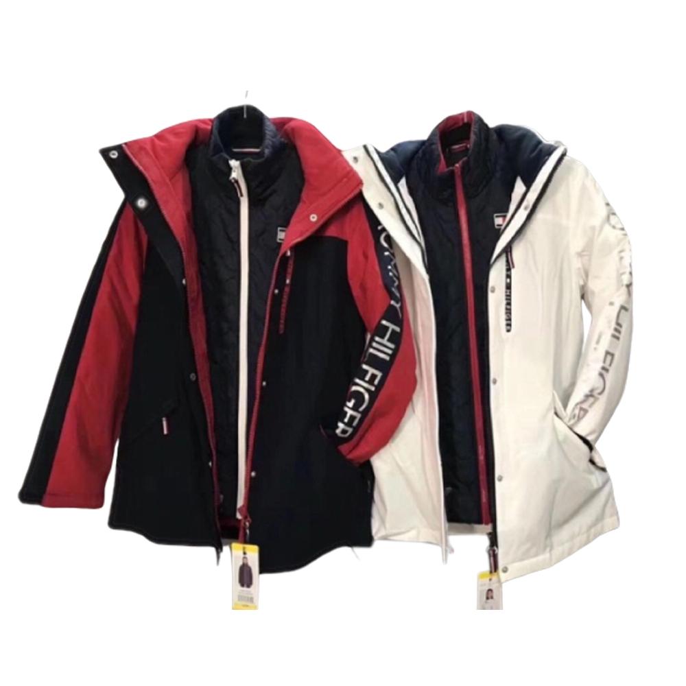 【現貨】Tommy Hilfiger 衝鋒外套 三合一防風防水兩件式保暖外套 可分拆 風衣 大衣 外套