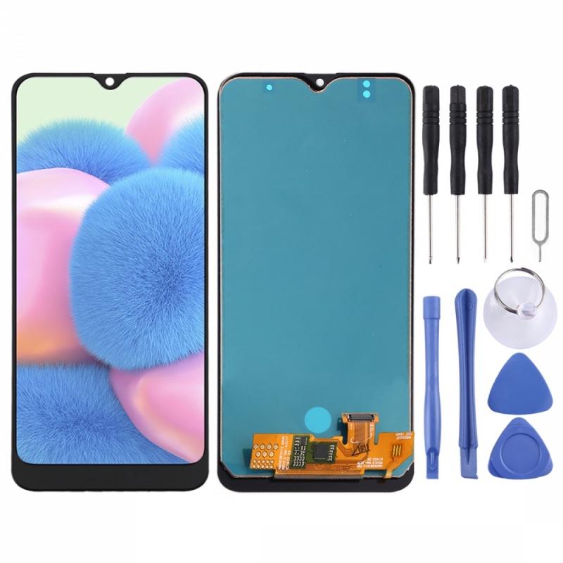 適用於 三星 A30 A30S A40S 手機螢幕面板 手機螢幕總成 液晶顯示屏 液晶螢幕 屏幕總成 玻璃觸控面板速發