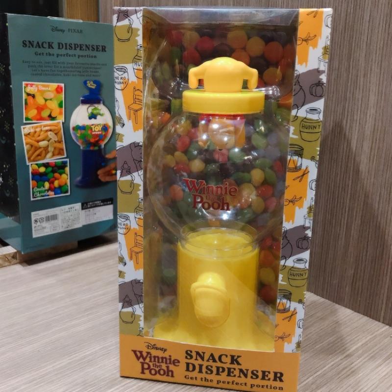 [現貨]日本代購 日本迪士尼 小熊維尼 三眼怪 扭蛋機 糖果扭蛋 爪子 維尼