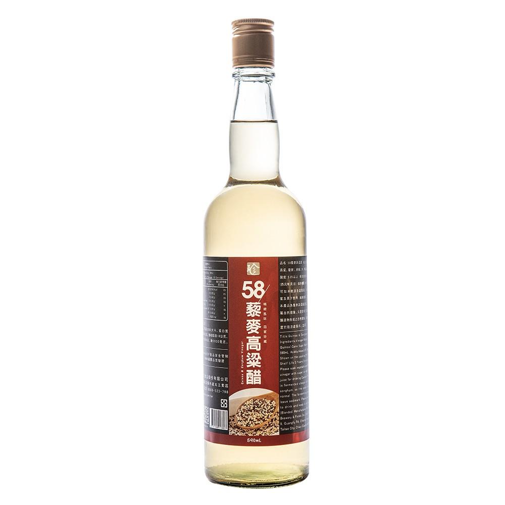 【百家珍】58藜麥高粱醋590mL