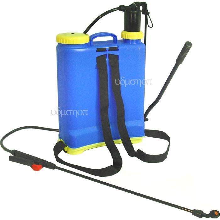 後背式 16L手壓噴霧器 16公升噴霧桶/有打氣筒加壓裝置/16L噴水器 灑水器 澆水器/噴農藥桶 噴霧機●F0096●