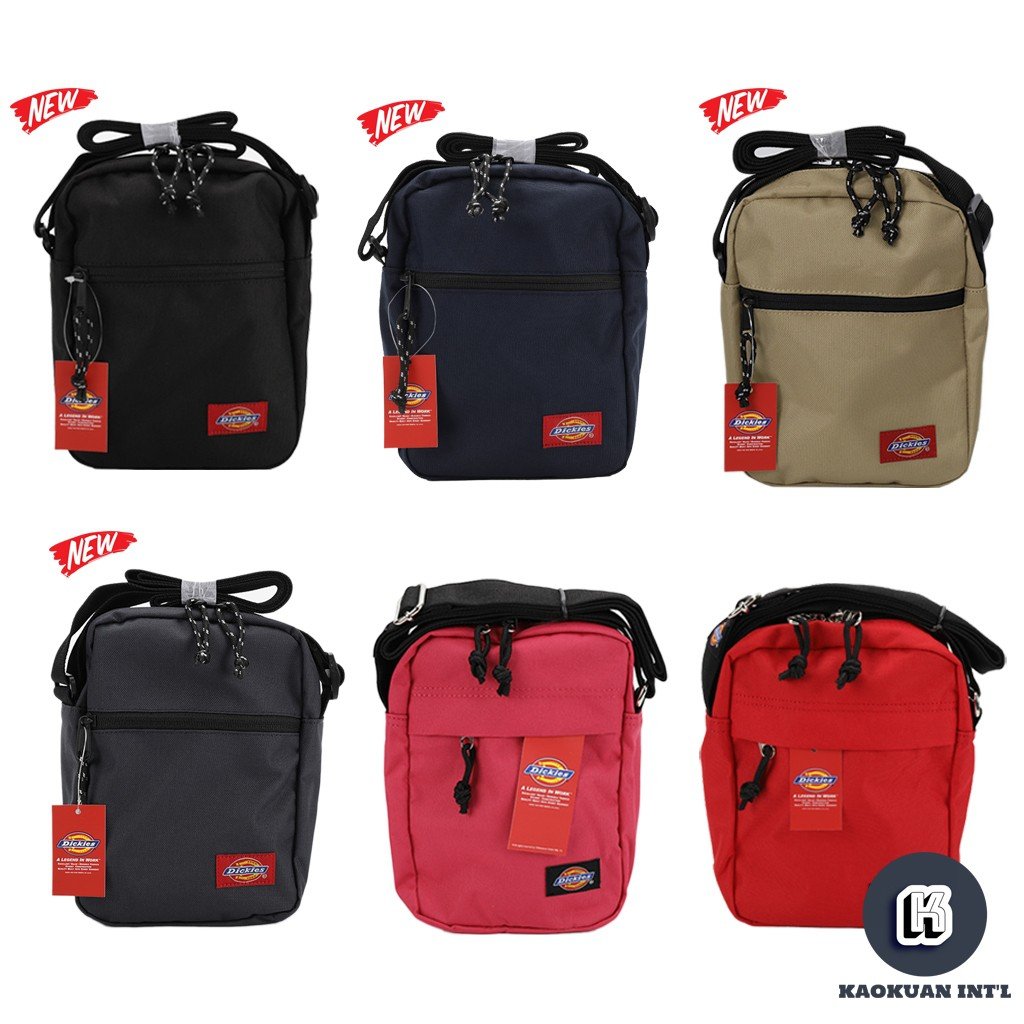 Dickies DML/DMR5UBSC Quick Pocket Bag 防潑水 小包 斜背包 黑藍灰【高冠國際】