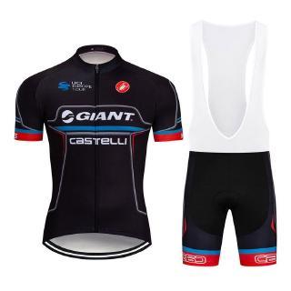 2019 Giant Castelli騎行服騎行短褲騎行短褲短袖套裝防曬新款運動