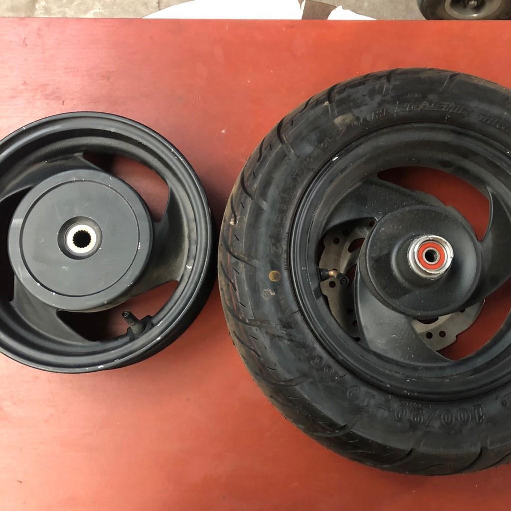 ♝▩光陽原廠 勁麗125 GP125 CK125T-3W前后 輪轂 輪圈 鋼圈 全新拆車