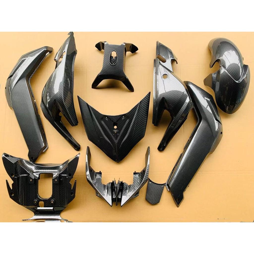 ♧❒電動摩托車高速戰狼電動車 x戰警改裝極客外殼烤漆碳纖維