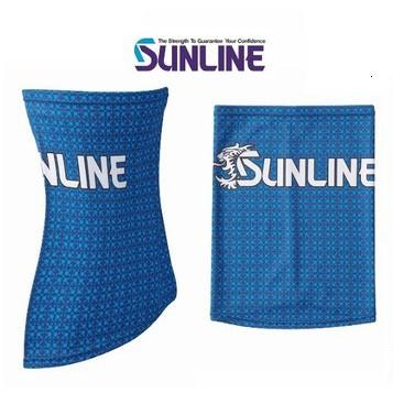 ☆~釣具達人~☆ SUNLINE SUW-0910 透氣 防曬 涼感 領巾 頭巾 脖套 防曬面罩
