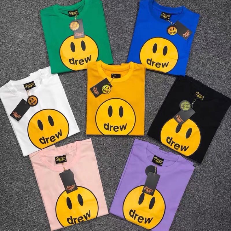 [Suu代購]DREW HOUSE 笑臉賈斯汀比伯美式街頭短T恤  100%正品 還有粉色喔~