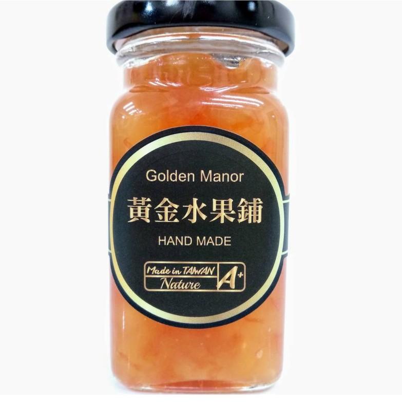 【黃金水果鋪】保柚蘋安 手作果醬190g