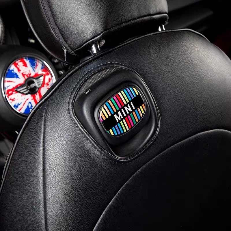 Mini One Cooper F56椅背拉手裝飾貼紙