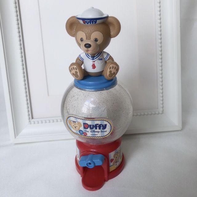 香港迪士尼Duffy達菲糖果罐/扭蛋機