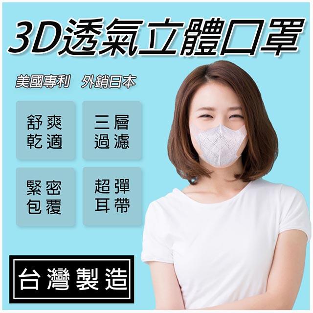 easy-o-fit 超合臉型 成人 幼童 小童 大童 3D立體 拋棄式口罩 三層式 三角立體專用 不織布材質 外銷日本