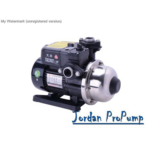 《Jordan》大井TQ-B系列電子穩壓加壓泵浦TQ200、TQ400、TQ800 加壓馬達