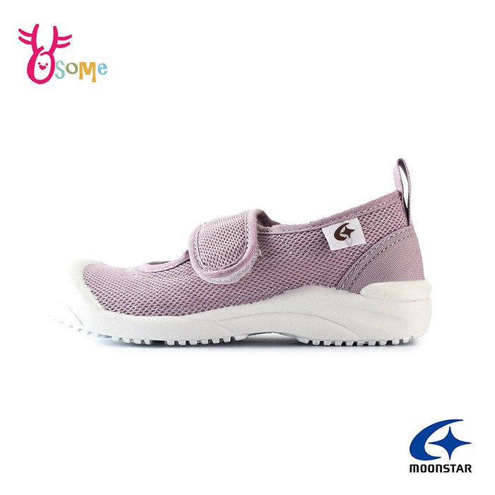 Moonstar月星室內鞋 日本原裝 幼稚園室內鞋 網布透氣室內鞋 兒童室內鞋 女童室內鞋 k9625 奧森