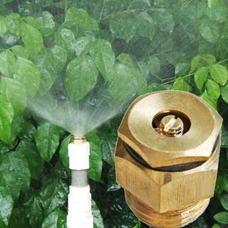 """DELMER 黃銅1/ 2""""灑水頭灑水器螺紋360度噴霧噴頭噴嘴/ 多種顏色"""