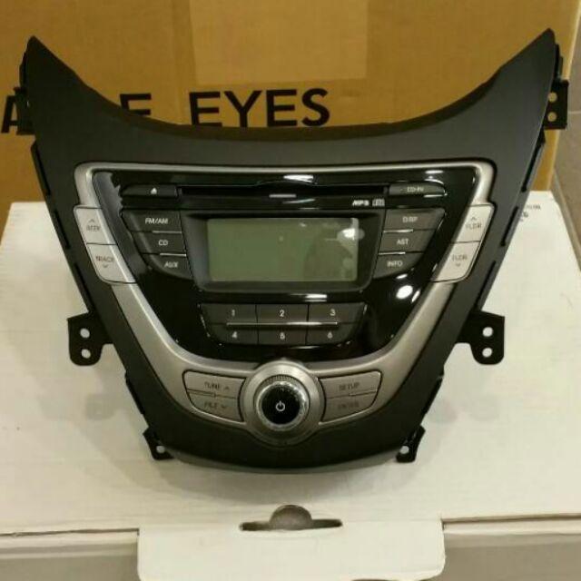 【現代 elantra 原廠】音響,另售尾燈,2012年版車燈