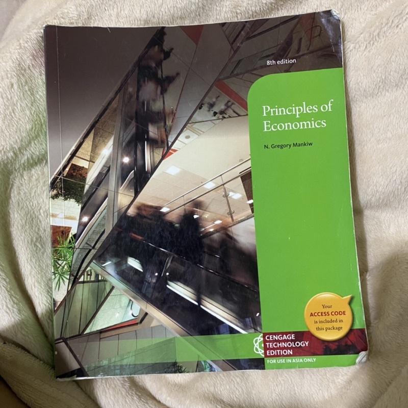 Principles of economics 8th 經濟學第八版(二手)