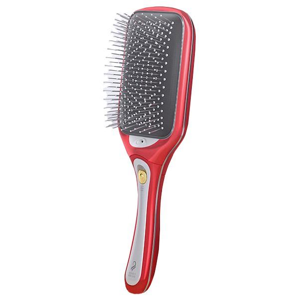 (預/宅)日本KOIZUMI負離子音波磁氣美髮梳 KBE-2400/TP 紅色【康是美】