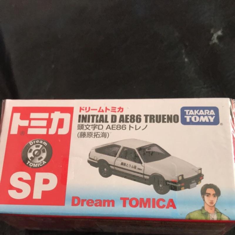 日本境內版 多美 tomica 2019 頭文字D 7-11 initial D AE86 Trueno 藤原拓海