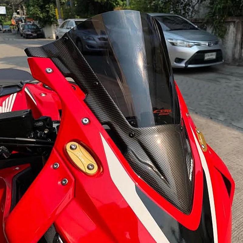 Moto橘皮 CBR650R 風鏡 碳纖維 加高風鏡 honda cbr650f cbr500r cbr150r